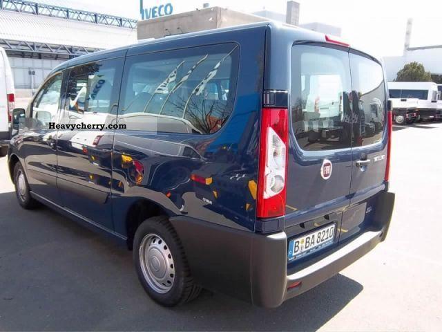 fiat scudo combi l2 120 air 9 seater truck 2012 estate minibus up to 9 seats truck photo and specs. Black Bedroom Furniture Sets. Home Design Ideas