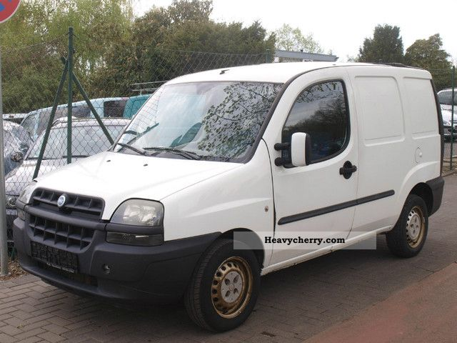 Fiat Doblo Cargo 19jtd Box 2002 Box Type Delivery Van Photo