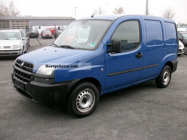 fiat doblo cargo truck 2003 box type delivery van photo and specs. Black Bedroom Furniture Sets. Home Design Ideas
