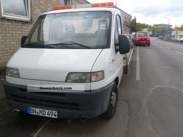 1999 Fiat  Bravo Van or truck up to 7.5t Breakdown truck photo