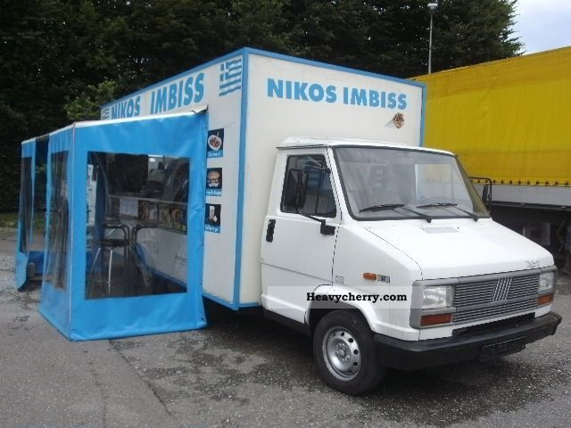1991 Fiat  Fully equipped Ducato, Busnes! Van or truck up to 7.5t Traffic construction photo