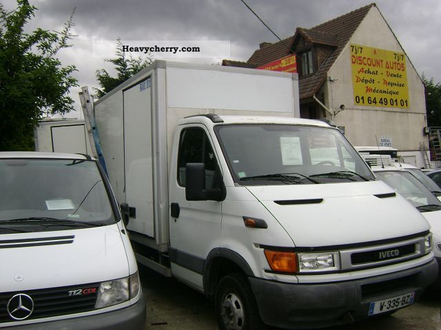 2003 Fiat  DAILY 35C12 ISOTHERME CBB Van or truck up to 7.5t Box-type delivery van photo