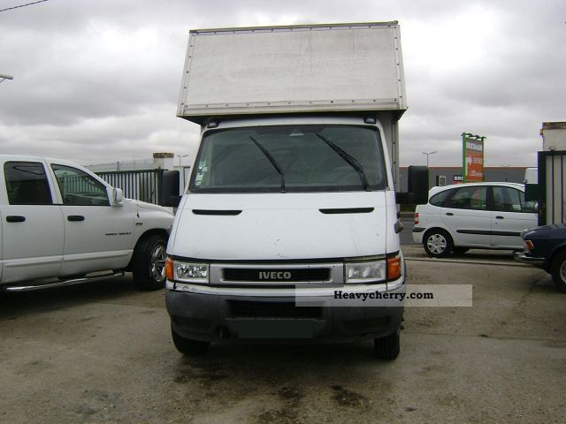 2003 Fiat  DAILY 35C13 HAYON 22M3 HAYON Van or truck up to 7.5t Box-type delivery van photo