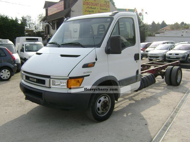 2003 Fiat  DAILY 35C12 CHASSIS NU Van or truck up to 7.5t Box-type delivery van photo