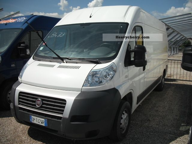 fiat ducato l2h2 climate emergency 2012 box type delivery van high photo and specs. Black Bedroom Furniture Sets. Home Design Ideas