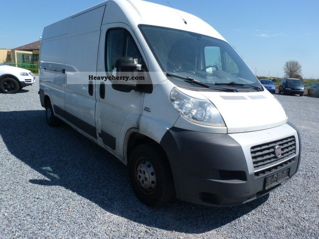 fiat ducato 35 l4h2 120 multijet 2008 box type delivery van high and long photo and specs. Black Bedroom Furniture Sets. Home Design Ideas
