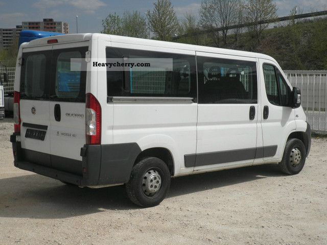 fiat ducato l2h1 120 glazed 2008 box type delivery van long photo and specs. Black Bedroom Furniture Sets. Home Design Ideas