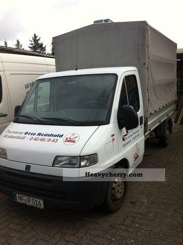 2000 Fiat  Bravo Van or truck up to 7.5t Stake body and tarpaulin photo