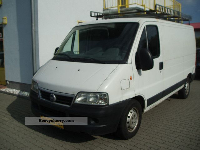 2003 Fiat  Ducato 2.8 JTD / Air / Navi / 1.Hand Van or truck up to 7.5t Box-type delivery van photo