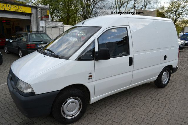 fiat scudo 1998 box type delivery van photo and specs. Black Bedroom Furniture Sets. Home Design Ideas