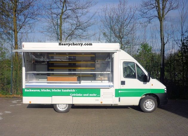 2005 Fiat  Ducato bakery / breakfast mobile Van or truck up to 7.5t Traffic construction photo