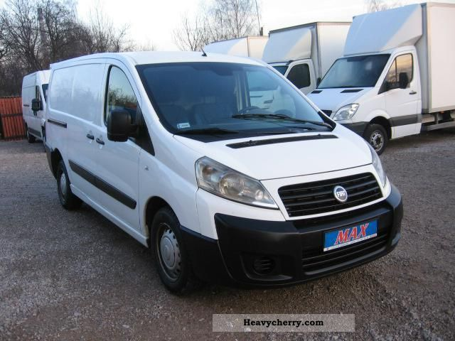 fiat scudo long 2007 box type delivery van photo and specs. Black Bedroom Furniture Sets. Home Design Ideas