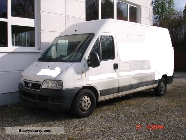 2003 Fiat  Ducato 2.8 JTD Van or truck up to 7.5t Box-type delivery van - high and long photo