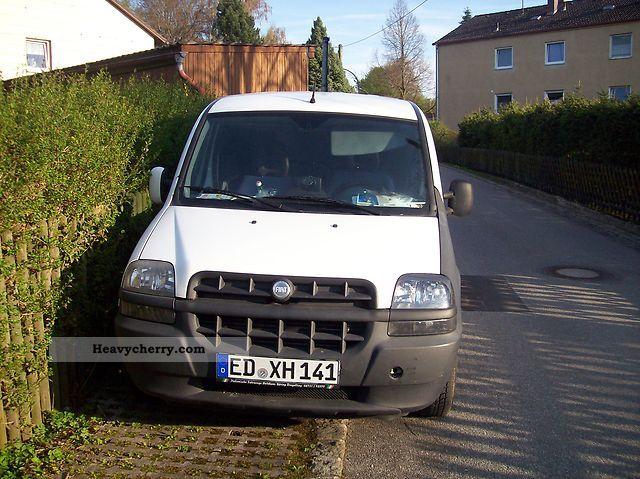 2001 Fiat  doblo cargo Van or truck up to 7.5t Box-type delivery van photo