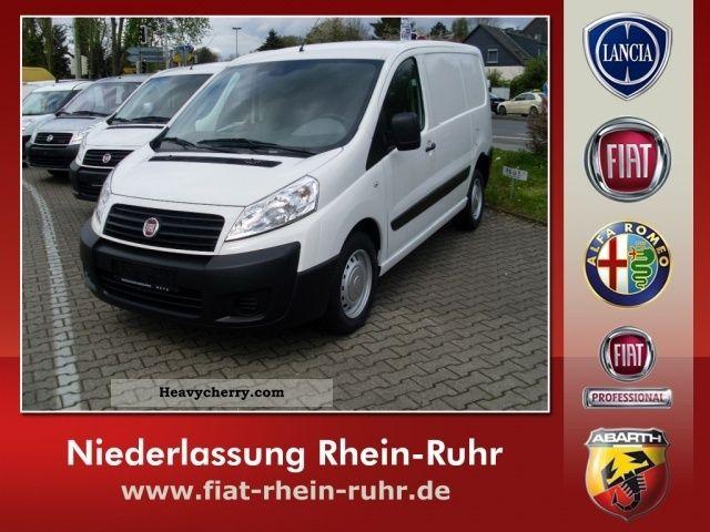 2011 Fiat  Scudo Van 10 L1H1 130 Multijet Euro 5 Van or truck up to 7.5t Box-type delivery van photo
