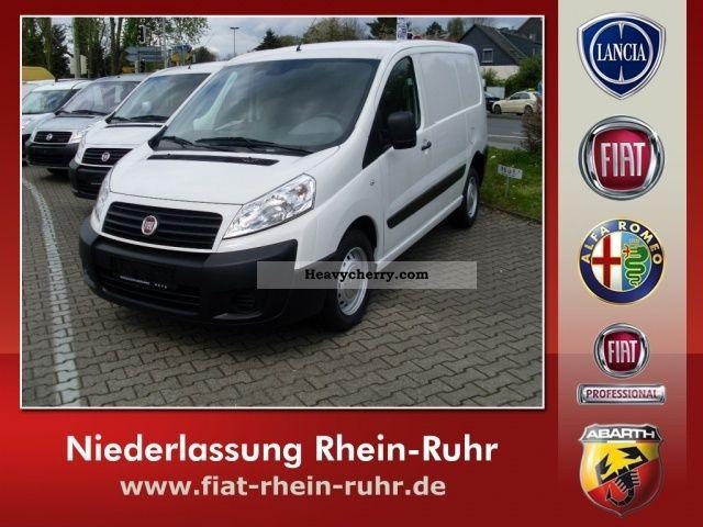 2011 Fiat  Scudo Van 12 L2H1 90 Multijet Euro 5 Van or truck up to 7.5t Box-type delivery van photo