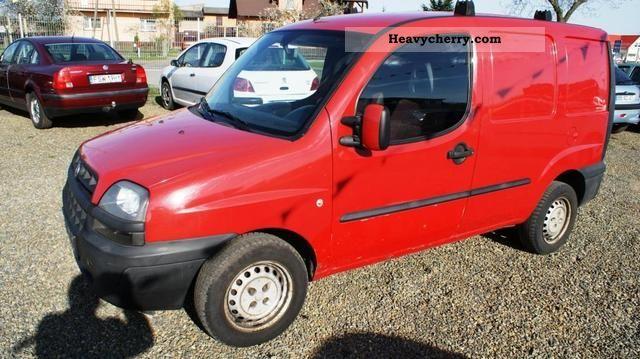 2002 Fiat  Sprowadzony Doblo - t.km 135! Van or truck up to 7.5t Box-type delivery van photo