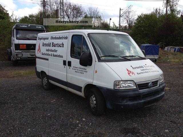 2003 Fiat  Bravo Van or truck up to 7.5t Box-type delivery van photo