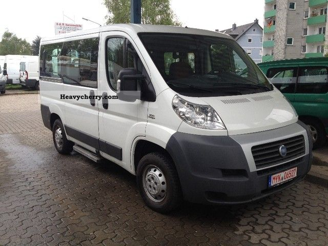 fiat 9 sitzer ducato 100 multijet 2007 estate minibus up. Black Bedroom Furniture Sets. Home Design Ideas