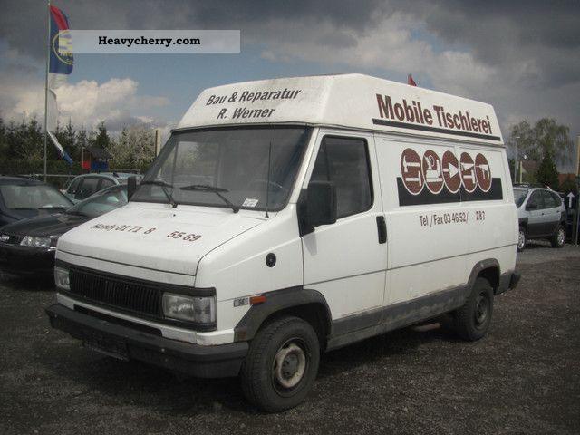 1992 Fiat  Bravo Van or truck up to 7.5t Box-type delivery van photo