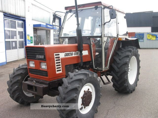 1982 Fiat  666 DT-wheel Agricultural vehicle Tractor photo
