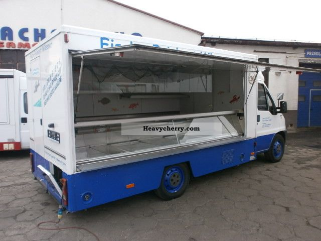 1997 Fiat  Ducato Autosklep Thurs Ryb * Meat-4, 2m lada Van or truck up to 7.5t Traffic construction photo