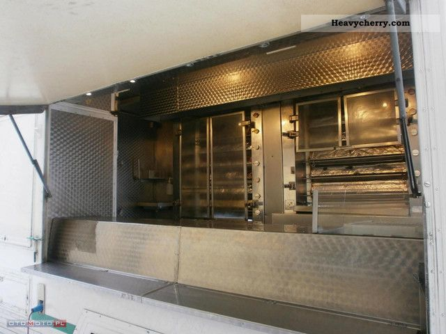 2003 Fiat  Ducato Car Grill - Chicken 2003 - great! Van or truck up to 7.5t Traffic construction photo