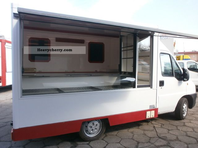 2004 Fiat  DUCATO AUTOSKLEP DO WĘDLIN 2004 SEICO Van or truck up to 7.5t Traffic construction photo