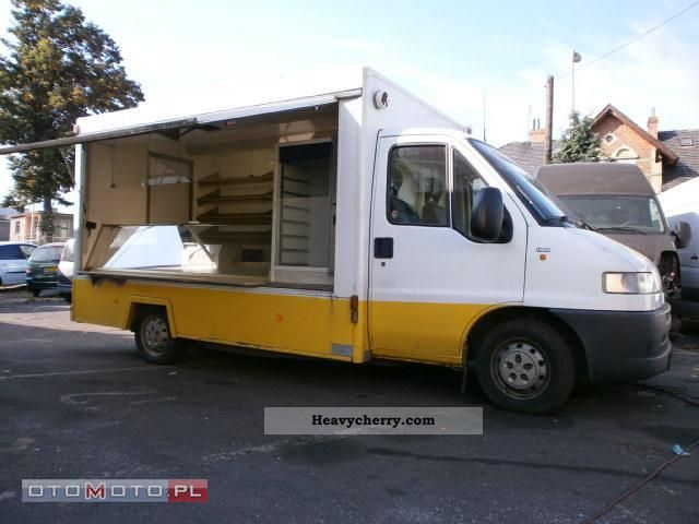 2001 Fiat  Ducato 2001-Seico sales structure - pieczywo Van or truck up to 7.5t Traffic construction photo