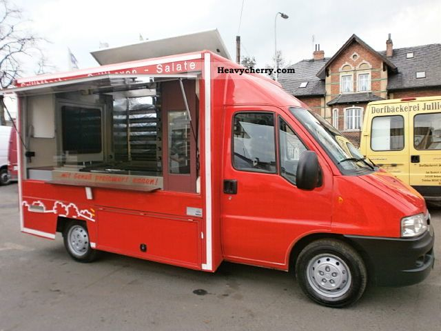 2005 Fiat  Ducato 2005 Mobil Super Chicken sale! Van or truck up to 7.5t Traffic construction photo