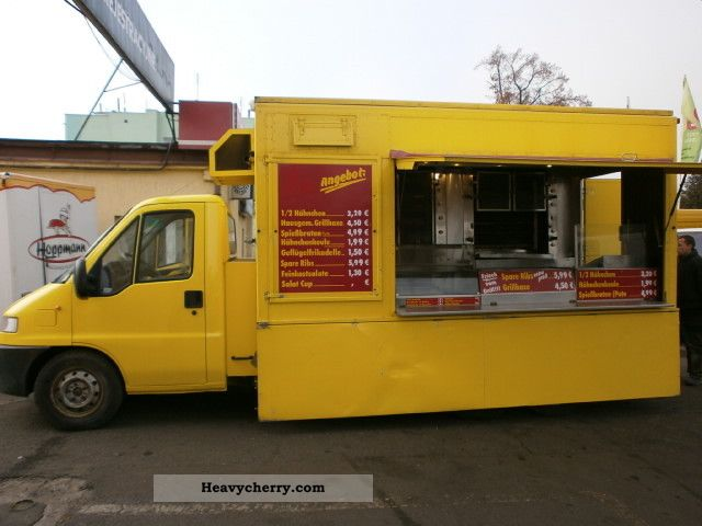 2002 Fiat  Ducato car grill chicken grill-2002 * Super Snack Van or truck up to 7.5t Traffic construction photo