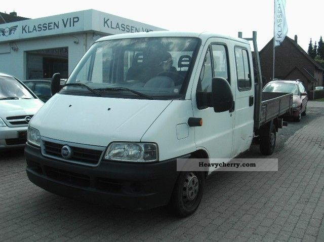 2003 Fiat  Ducato 15 2.3 JTD PLATFORM DOUBLE CAB Van or truck up to 7.5t Stake body photo