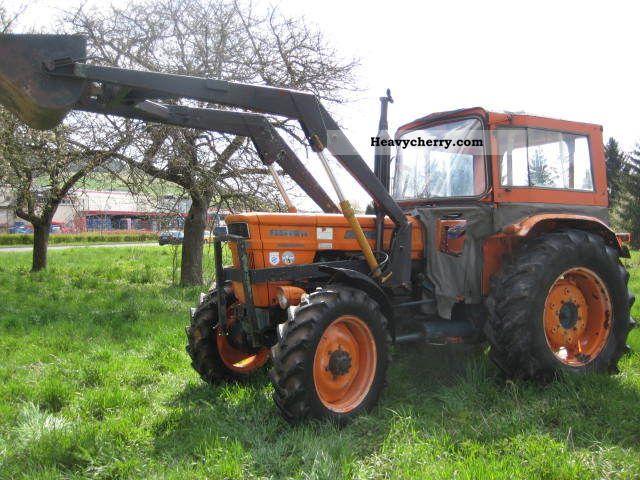 1972 Fiat  650 DT shovel loader, power steering Agricultural vehicle Tractor photo
