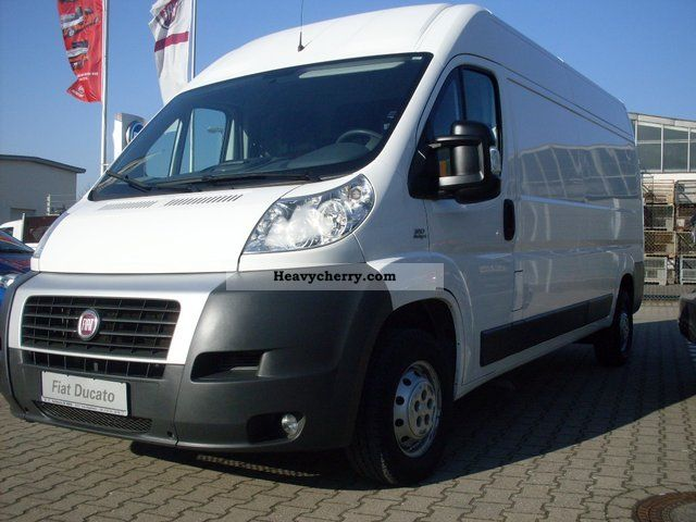 fiat ducato van 35 l4h2 greater multijet 120 2009 box type delivery van high and long photo. Black Bedroom Furniture Sets. Home Design Ideas
