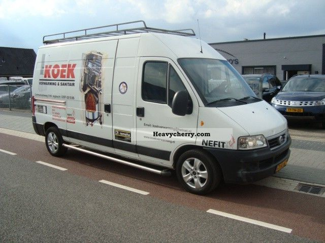 2003 Fiat  Ducato 2.3 Jtd 81kw Maxi L3H2 139.000km! Van or truck up to 7.5t Box-type delivery van photo