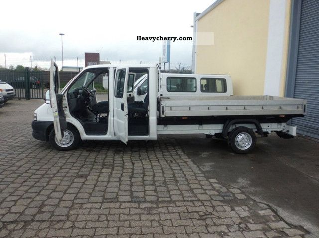 2003 Fiat  Ducato 2.8JDT 94Kw * Double Cab Maxi-PLATFORM Van or truck up to 7.5t Stake body photo