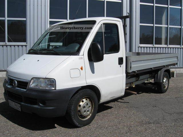 2003 Fiat  Ducato Maxi Van or truck up to 7.5t Stake body photo