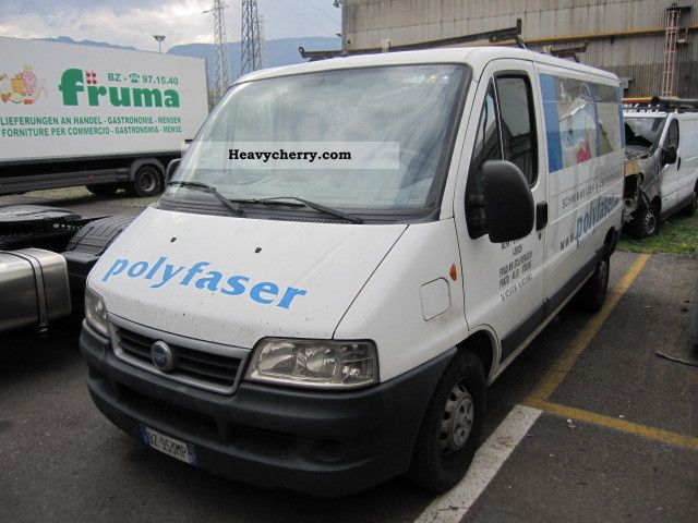 2003 Fiat  Ducato 15 Van or truck up to 7.5t Box photo