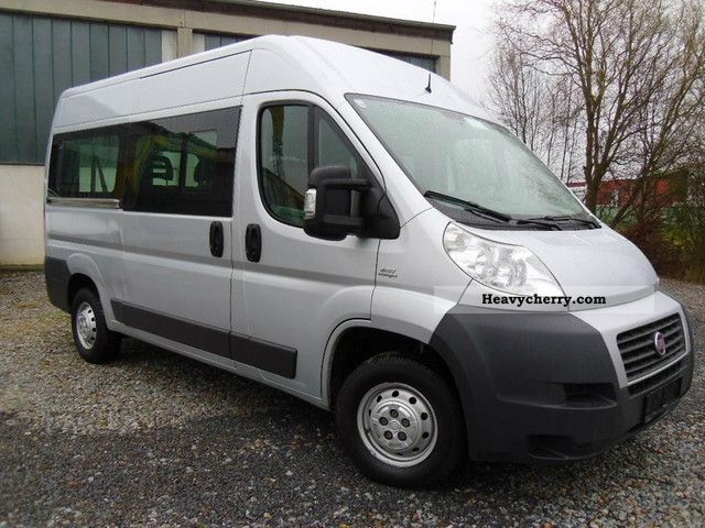 fiat ducato l2h2 9sitzer air 2009 estate minibus up to 9 seats truck photo and specs. Black Bedroom Furniture Sets. Home Design Ideas