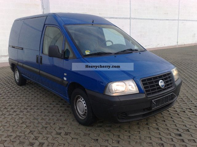 fiat scudo 1 9 d long 2004 box type delivery van long photo and specs. Black Bedroom Furniture Sets. Home Design Ideas
