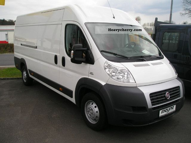fiat ducato maxi 35 large volume l5h2 130 2011 box type delivery van high and long photo and specs. Black Bedroom Furniture Sets. Home Design Ideas