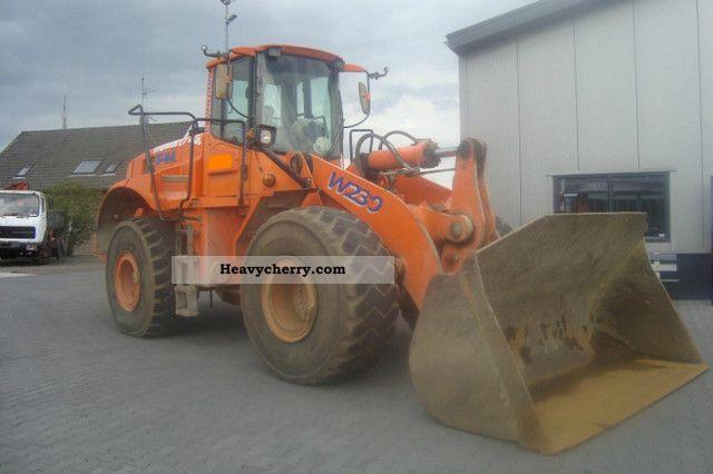 2003 Fiat  Fiat kobelco-W230 (22 ton) Construction machine Wheeled loader photo