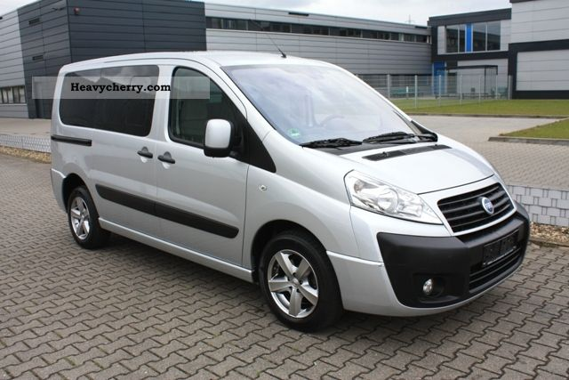 fiat scudo l1 120m jet 8 seater air family ahk 2007. Black Bedroom Furniture Sets. Home Design Ideas