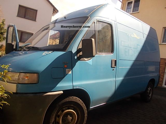 1999 Fiat  Bravo Van or truck up to 7.5t Box-type delivery van - high photo
