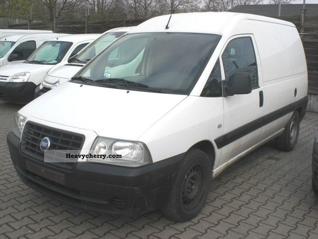 fiat scudo 2 0 jtd 2006 box type delivery van photo and specs. Black Bedroom Furniture Sets. Home Design Ideas