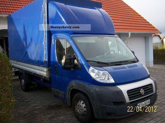 2008 Fiat  Bravo Van or truck up to 7.5t Stake body and tarpaulin photo