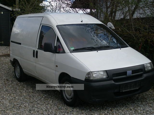 fiat scudo 1999 box type delivery van photo and specs. Black Bedroom Furniture Sets. Home Design Ideas