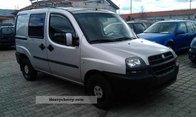 Fiat Doblo 19 Jtd Air Head Of Technical Ahk 3 2002 Box Type