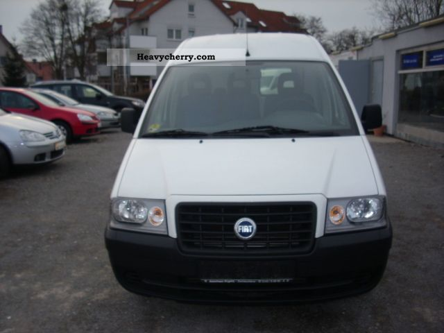 fiat scudo jtd sx 2006 box type delivery van. Black Bedroom Furniture Sets. Home Design Ideas