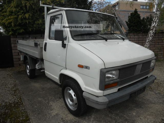 1992 Fiat  Platform Van or truck up to 7.5t Stake body photo